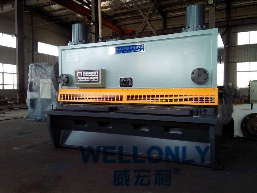 QC11Y-20×2500闸式剪板机